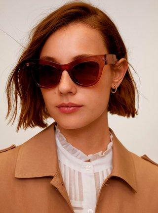 Růžové sluneční brýle Mango Jules