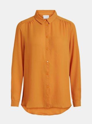 Oranžová košile VILA
