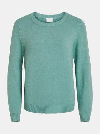 Modrý basic svetr VILA