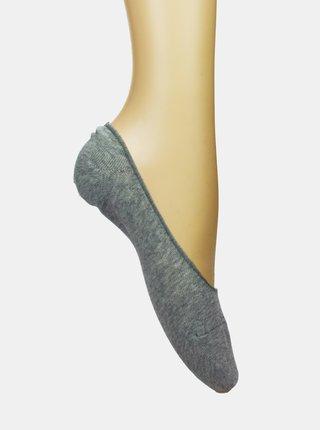 Šedé nízke ponožky Marie Claire