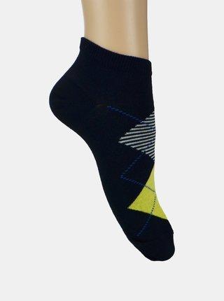Sada dvoch párov členkových ponožiek v šedej a modrej farbe Marie Claire