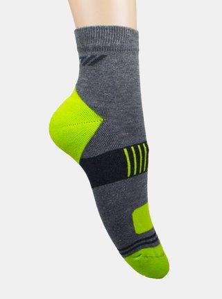 Sada dvoch párov ponožiek v šedej a bielej farbe Marie Claire