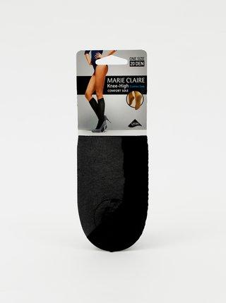 Černé punčochové podkolenky Marie Claire 20 DEN