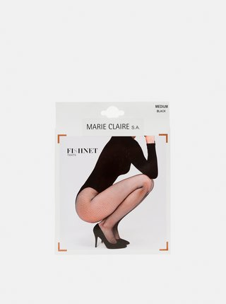 Čierne pančuchové nohavice Marie Claire