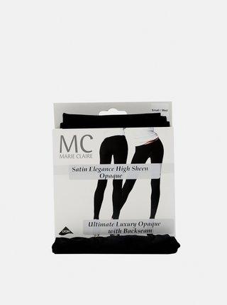 Černé punčochové kalhoty Marie Claire