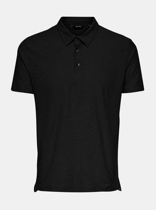 Černé polo tričko ONLY & SONS Ilkas