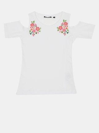 Biele dievčenské tričko Blue Seven