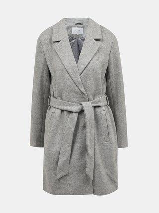 Šedý kabát VILA Lus