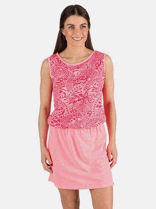 Růžové vzorované šaty SAM 73
