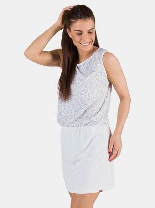 Bílé vzorované šaty SAM 73