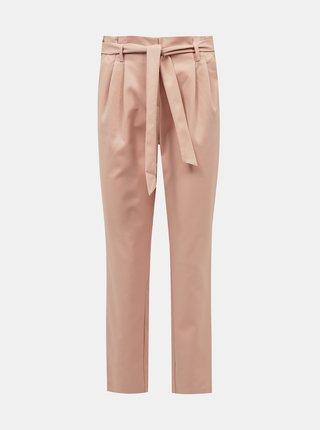 Světle růžové kalhoty VILA