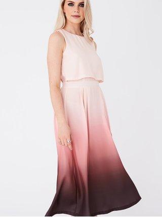 Ružové šaty Paper Dolls