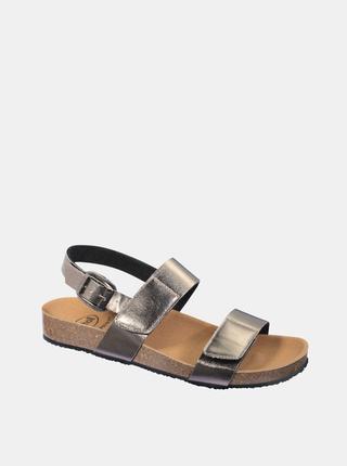 Dámské sandály ve stříbrné barvě Scholl