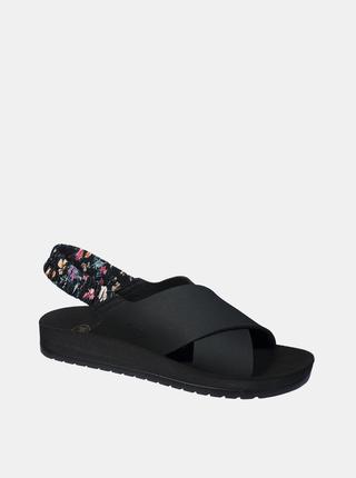 Čierne dámske sandále Scholl Ella Cross