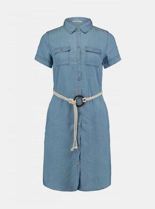 Rochii tip camasa pentru femei Hailys - albastru