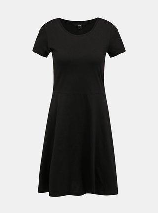 Čierne basic šaty VERO MODA