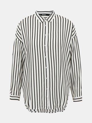 Čierno-biela pruhovaná košeľa ZOOT Bryony