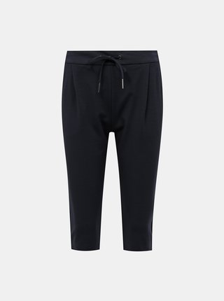 Tmavě modré 3/4 kalhoty VERO MODA