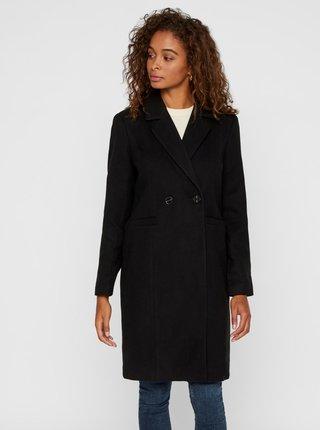 Čierny kabát VERO MODA Calarambla