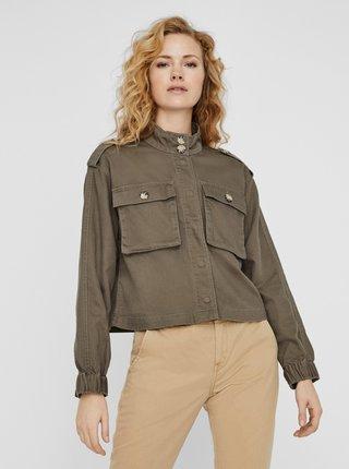 Jachete subtire pentru femei VERO MODA - kaki