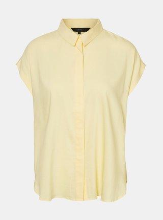 Žlutá košile VERO MODA Tanya