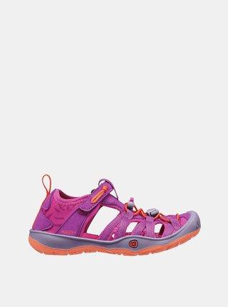 Růžové holčičí sandály Keen Moxie K