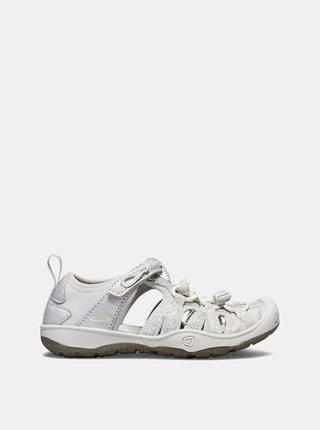 Světle šedé holčičí sandály Keen Moxie K
