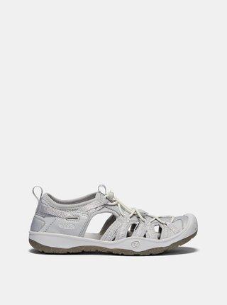 Světle šedé holčičí sandály Keen Moxie JR