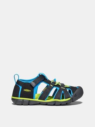 Černé dětské sandály Keen Seacamp II CNX C
