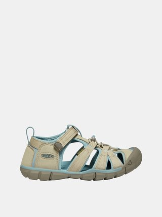 Béžové dětské sandály Keen Seacamp II CNX C