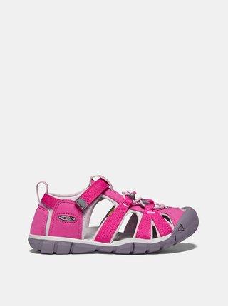 Růžové holčičí sandály Keen Seacamp II CNX C