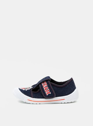 Tmavomodré chlapčenské topánky 3F
