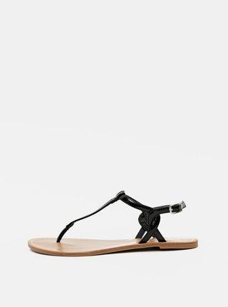 Čierne sandále ONLY Margit