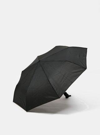 Černý pánský vystřelovací deštník Dice