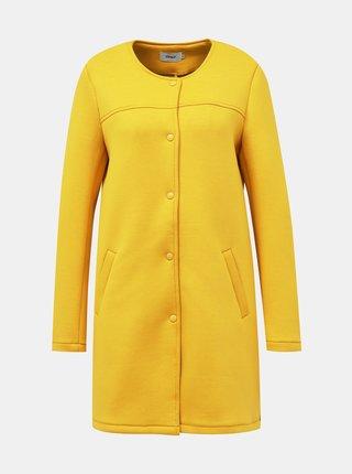 Horčicový ľahký kabát ONLY Donna