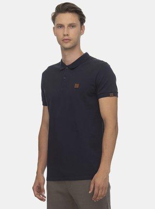 Tmavě modré pánské polo tričko  Ragwear