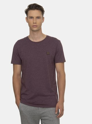 Tmavě fialové pánské tričko Ragwear
