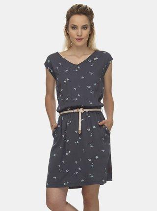 Šedé vzorované šaty Ragwear