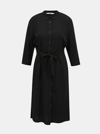 Čierne košeľové šaty ONLY
