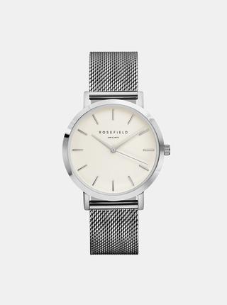 Dámské hodinky s nerezovým páskem ve stříbrné barvě Rosefield