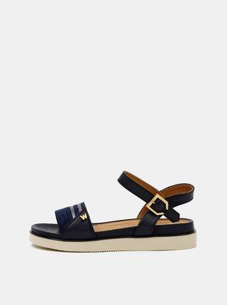 Tmavě modré dámské sandály Wrangler
