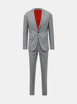 Šedý oblek Lindbergh