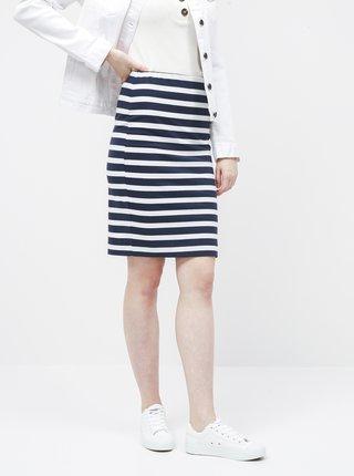 Bílo-modrá pruhovaná basic sukně ZOOT Uma