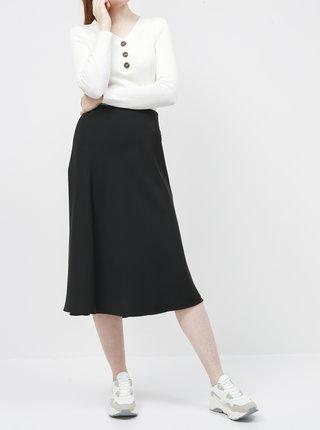 Černá saténová midi sukně ZOOT Molly