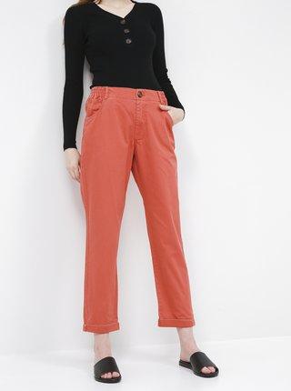 Tehlové skrátené nohavice Jacqueline de Yong Lopa