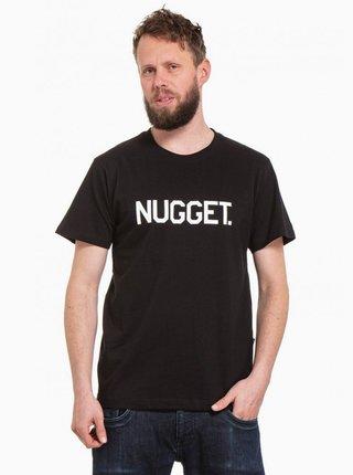 Černé pánské tričko NUGGET Logo 20