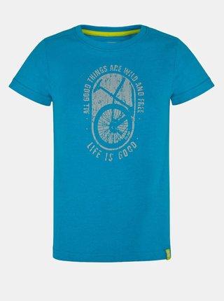 Modré klučičí tričko s potiskem LOAP Baakis