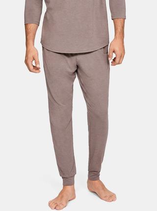 Hnědé pánské pyžamové kalhoty Recovery Under Armour