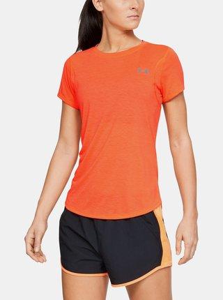 Oranžové dámské tričko Streaker Under Armour