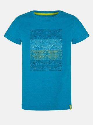 Modré klučičí tričko s potiskem LOAP Baris